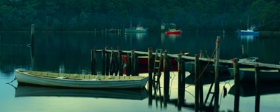 BOATS AT DUSK - click for enlargements, information & purchasing