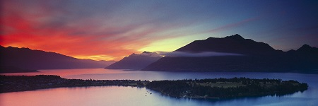 WAKATIPU DAWNING - click for enlargements, information & purchasing