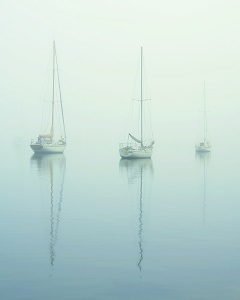 YACHTS AT DAWN